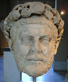 Dioclétien (Musée archéologique d'Istanboul, Wikimedia Commons)