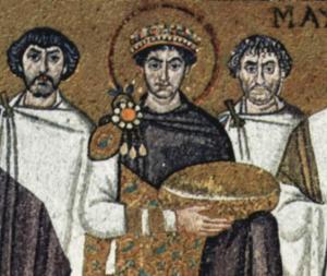 Mosaïque de Ravenne (église San Vitale, vers 547,  Wikimedia Commons©).